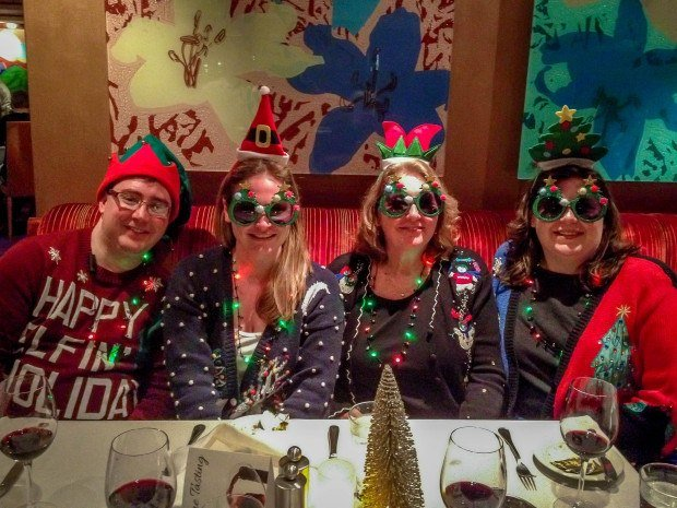 "Ugly Christmas sweaters and ""flare"" on a holiday cruise"