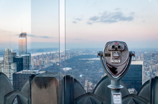 Overlooking Manhattan from the Top of the Rock at Rockefeller Center | Things to do in Rockefeller Center