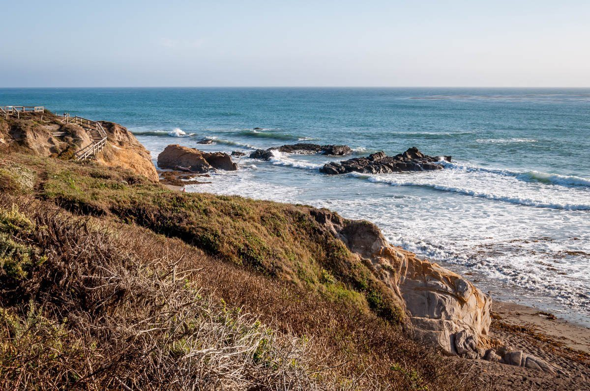 Exploring the beach is one of the best things to do in Cambria, CA
