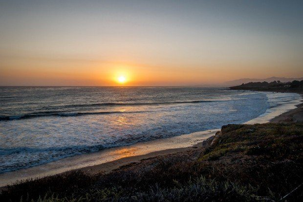Best things to do Cambira Ca:  Experiencing the sunset over the Pacific Ocean and the Cambria Moonstone Beach is a nightly ritual.  The views are spectacular!