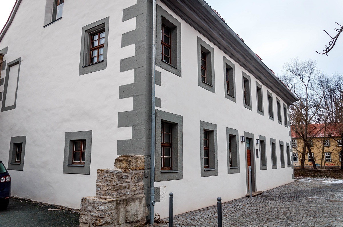 The student dormitory where Martin Luther lived in Erfurt
