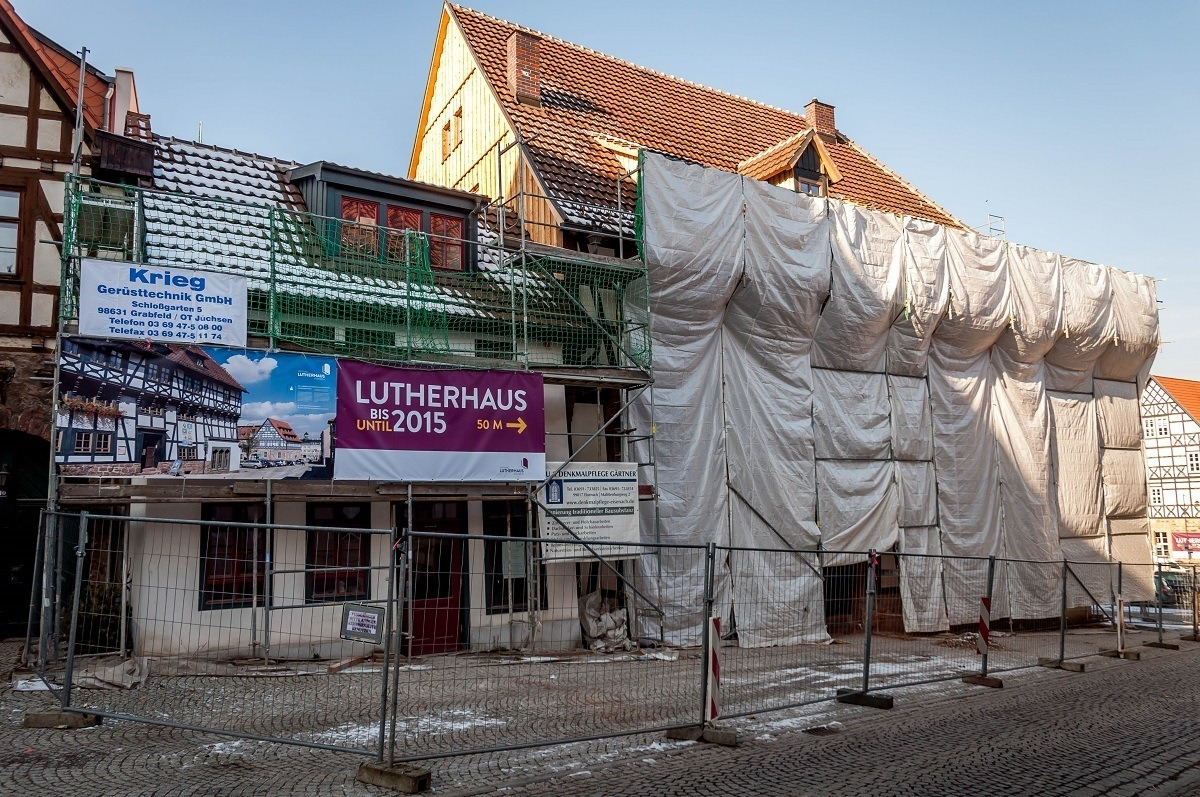 The Lutherhaus, Martin Luther's home in Eisenach