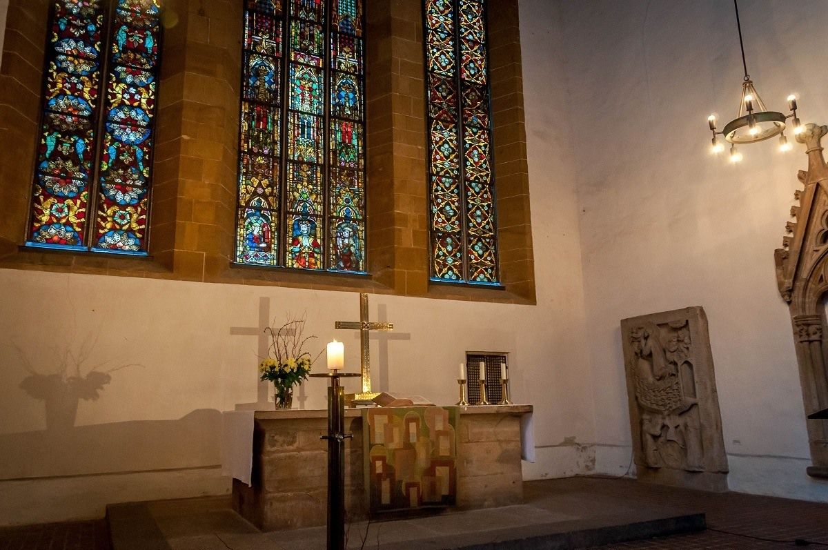 Altar in the Augustinian Monastery Church in Erfurt
