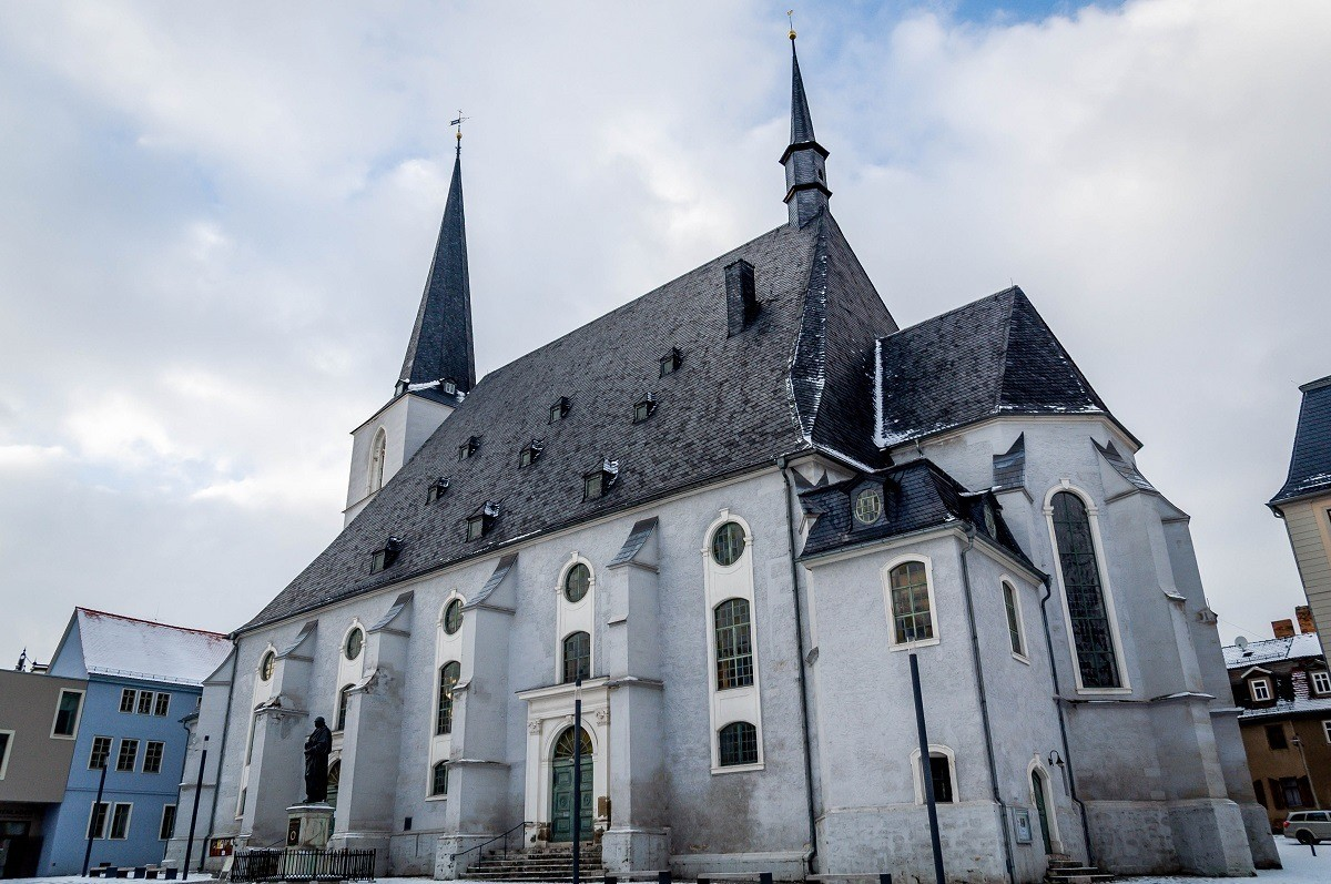 The Church of St Peter and St Paul (called the Herder church) in Weimar