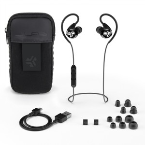 The JLab Audio Epic Bluetooth Earbuds.