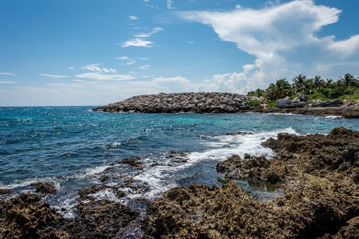 Coastline by the Occidental Grand Xcaret Riviera Maya