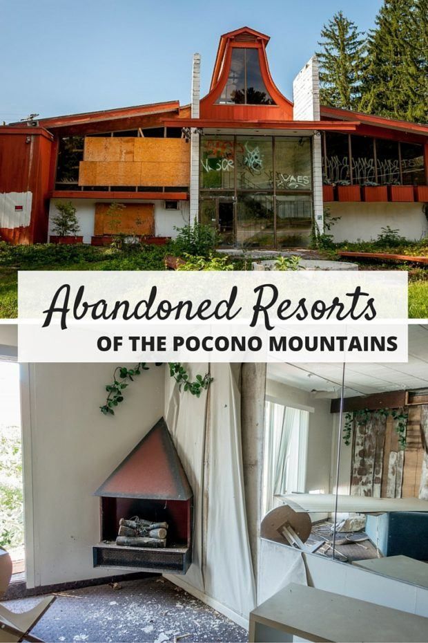The Eerie Abandoned Resorts of the Poconos Mountains