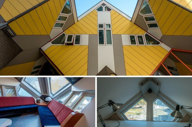 The Cube Houses. Rotterdam architecture can be unusual and eclectic, and it's always eye-catching.
