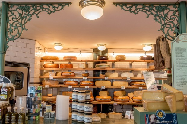 Cheese! It's just one of the deelicious stops on an Eating Amsterdam food tour
