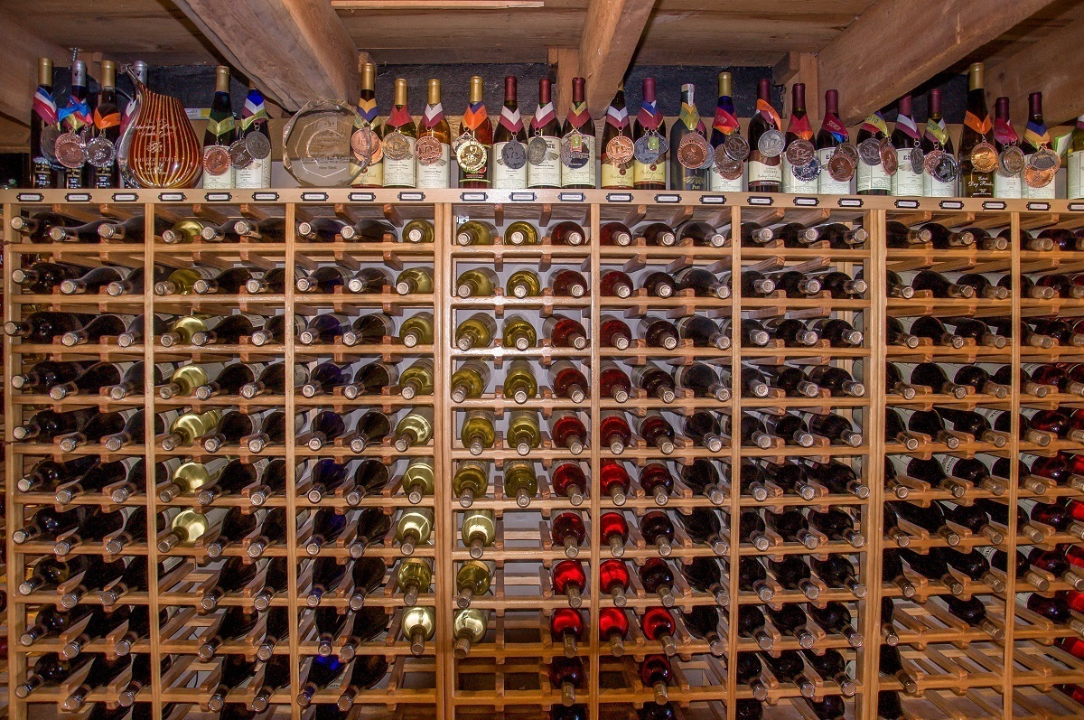 Johnson Estate Winery has lots of wines to choose from