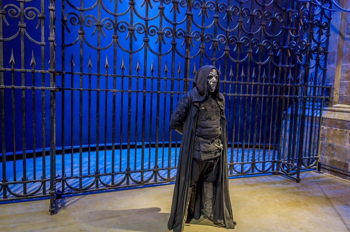 We were there for the Dark Arts Spectacular, which had live Deatheaters.