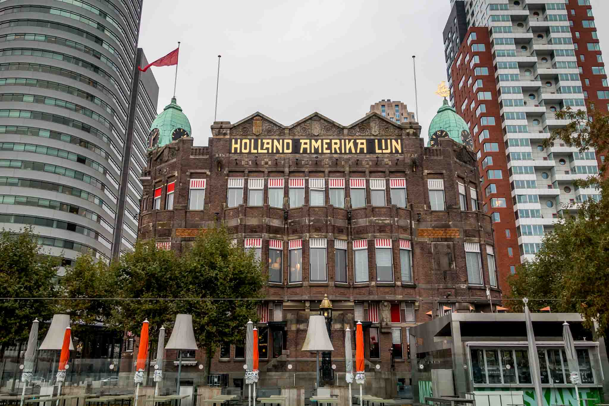 The original Holland America Lines headquarters is now the Hotel New York