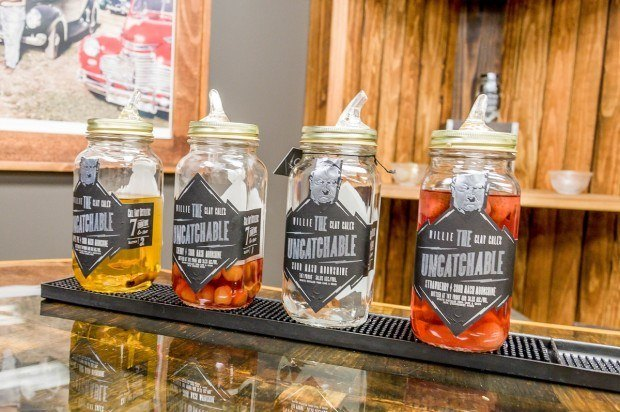 Call Family Distillers offers four delicious flavors of moonshine at their distillery in Wilkesboro, North Carolina. North Carolina distilleries pride themselves on their moonshine thanks to the state's heritage of bootlegging.