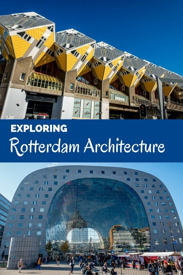 Rotterdam architecture is a mixture of unique styles. From the Cube Houses to the Erasmus Bridge, there's something different to see around every corner in the Netherlands' second-largest city.
