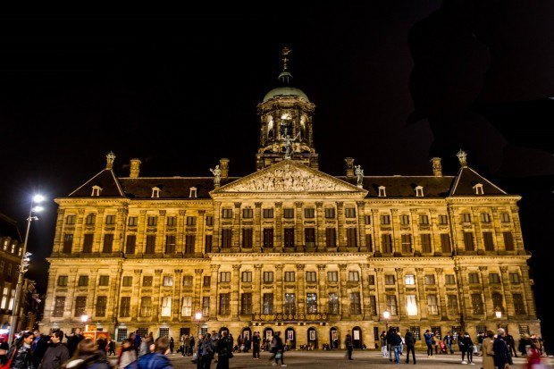 The Royal Palace Amsterdam used to be the city's Town Hall