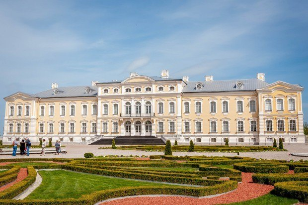 Latvia's Rundale Palace is one of the lesser-known palaces in Europe
