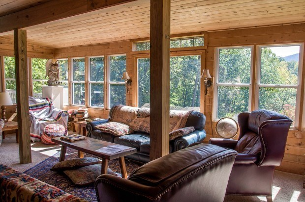 The library loft is one of several places to relax at Singletree Gun and Plough