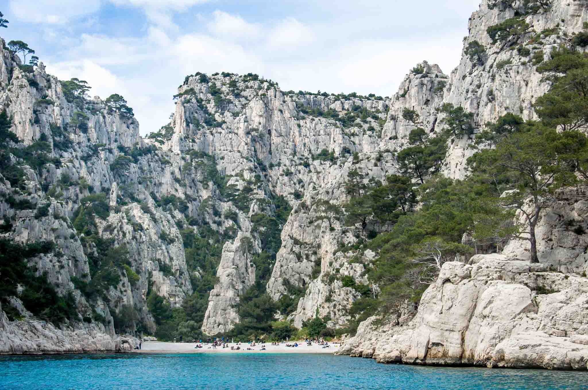 Visiting the calanques at Cassis is one of the best things to do in Provence.