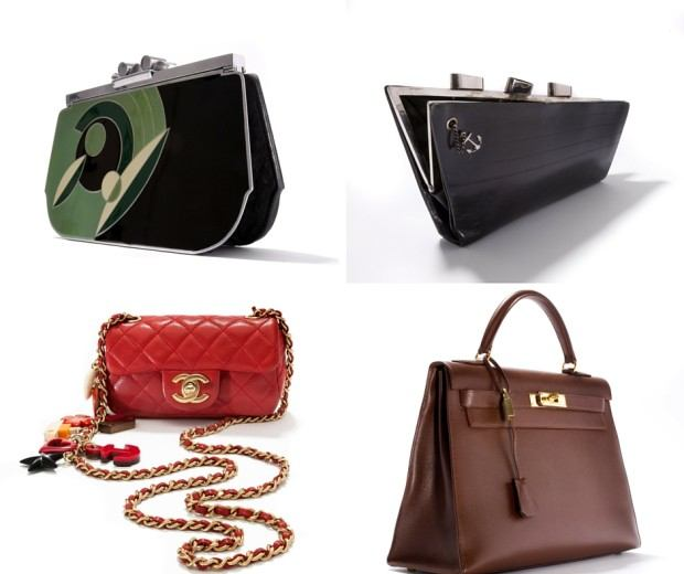 Beautiful examples of Art Deco and contemporary bags from the collection of the Museum of Bags and Purses