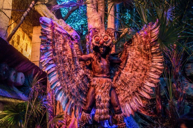 Performances around Xcaret park bring Mexican mythology and legends to life