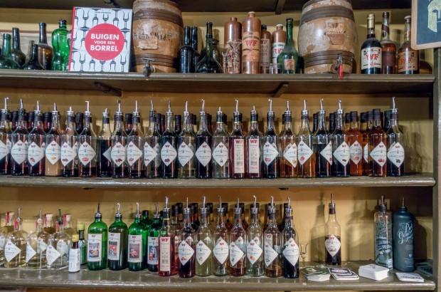 Wynand Fockink is a genever tasting room in Amsterdam that is over 300 years old. The bar offers more than 60 products for tasting.