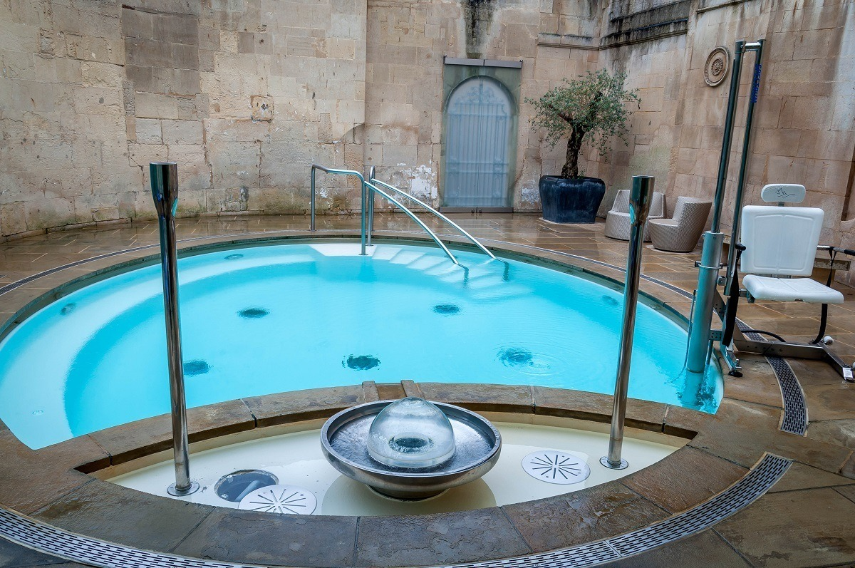 The Cross Bath at the Thermae Spa.