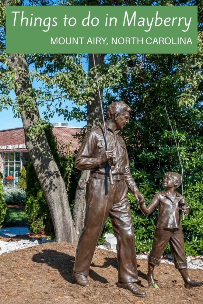 "From outdoor activities to wine tasting to taking in the sights of ""Mayberry,"" there are so many fun things to do in Mount Airy, North Carolina"