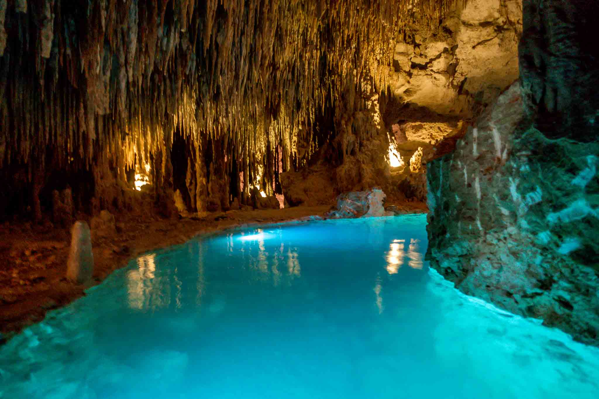 The underground rivers at Xplor adventure park in Playa del Carmen, Mexico, look like they're from another world. Spending a day at this lively adventure theme park is a great alternative to a beach day.
