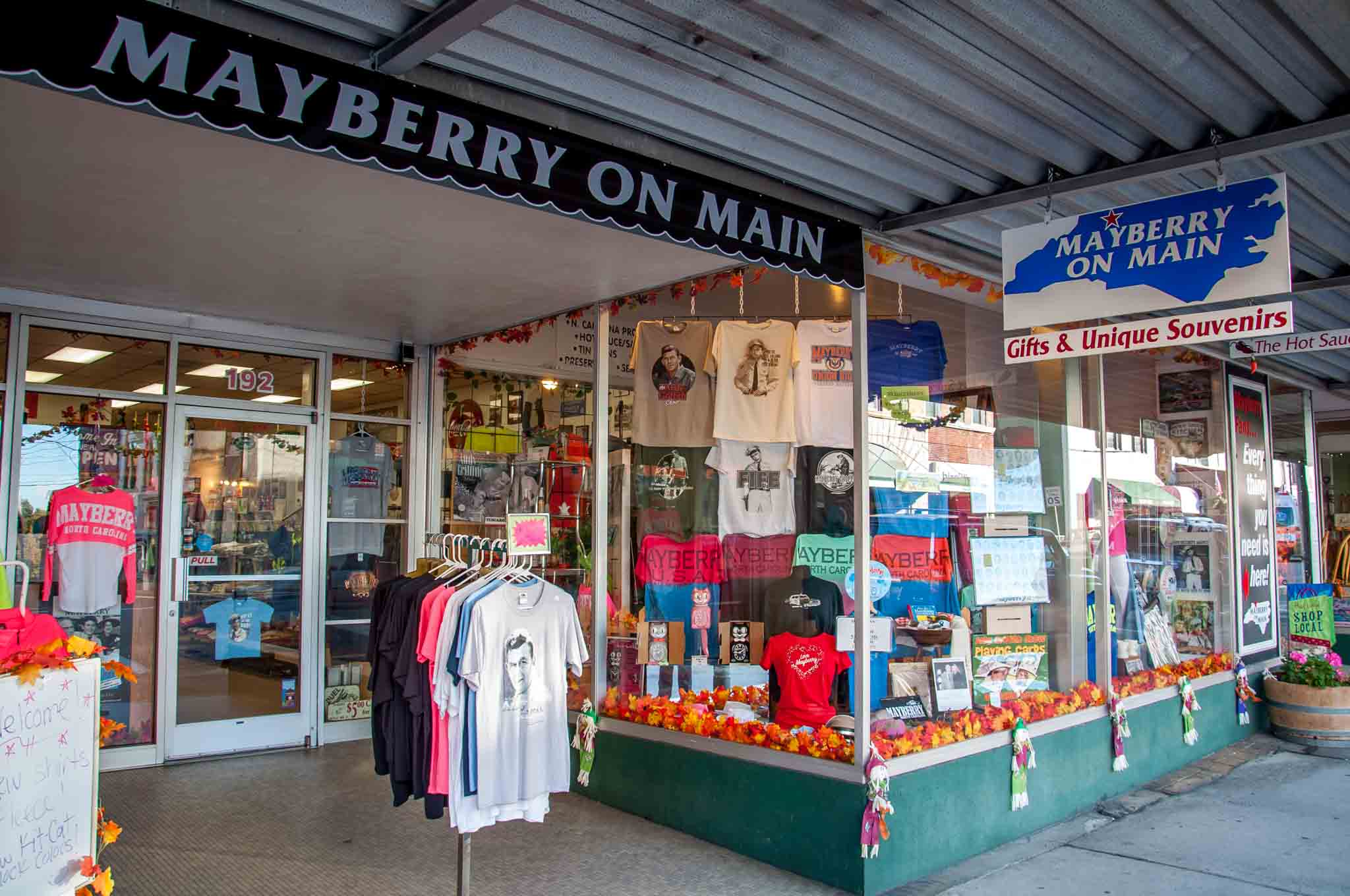 Mayberry on Main, a souvenir shop in Mount Airy, North Carolina
