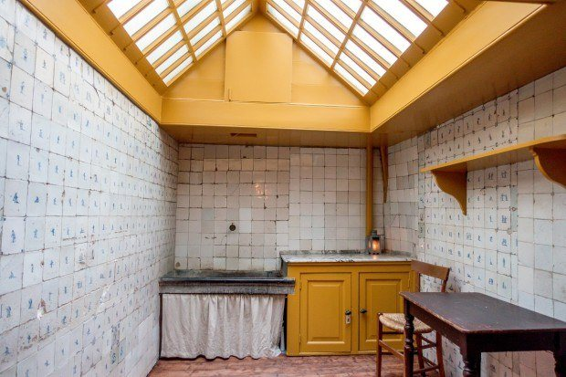 19th-century kitchen that is part of the Our Lord in the Attic museum in Amsterdam