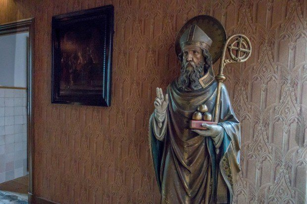 Religious sculpture at Amsterdam's Our Lord in the Attic clandestine church