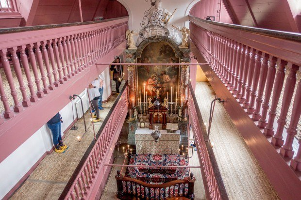 Inside Our Lord in the Attic, a 17th-century clandestine church in Amsterdam