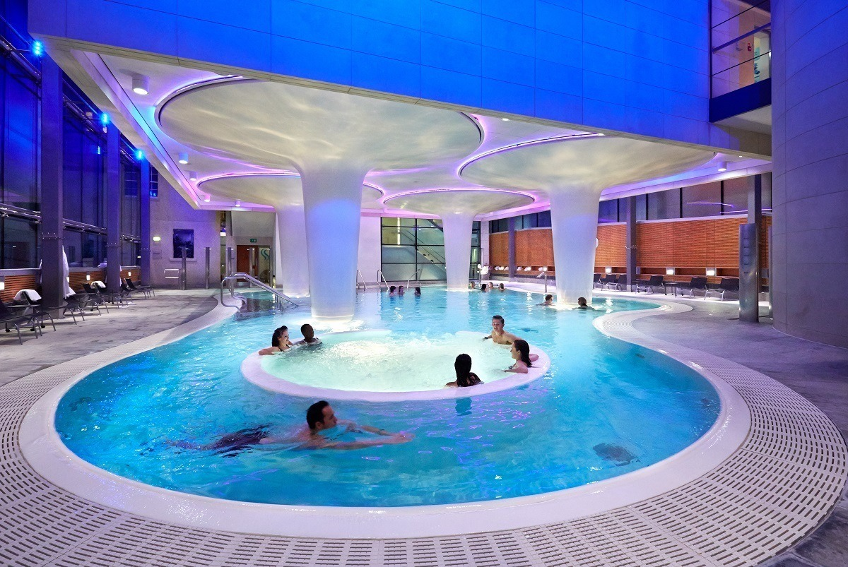 The Minera Bath at the Thermae Bath Spa.