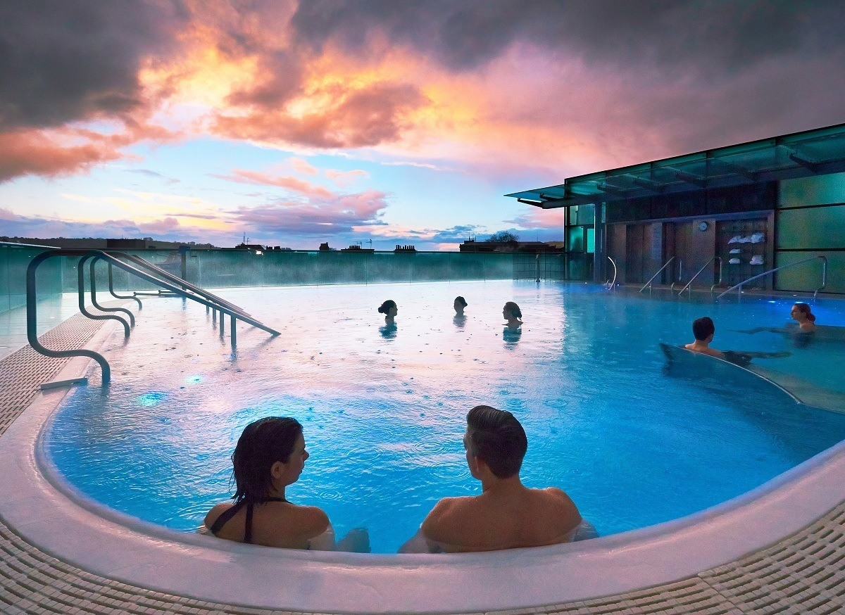 Soaking Royally at the Thermae Spa in Bath - Travel Addicts