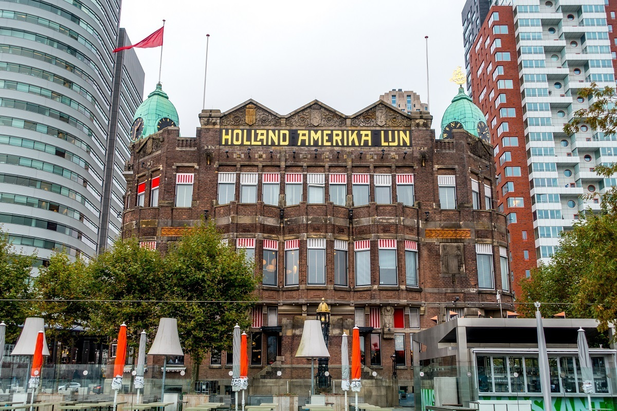 Visiting Hotel New York, the former Holland America headquarters, is one of the unique Rotterdam activities