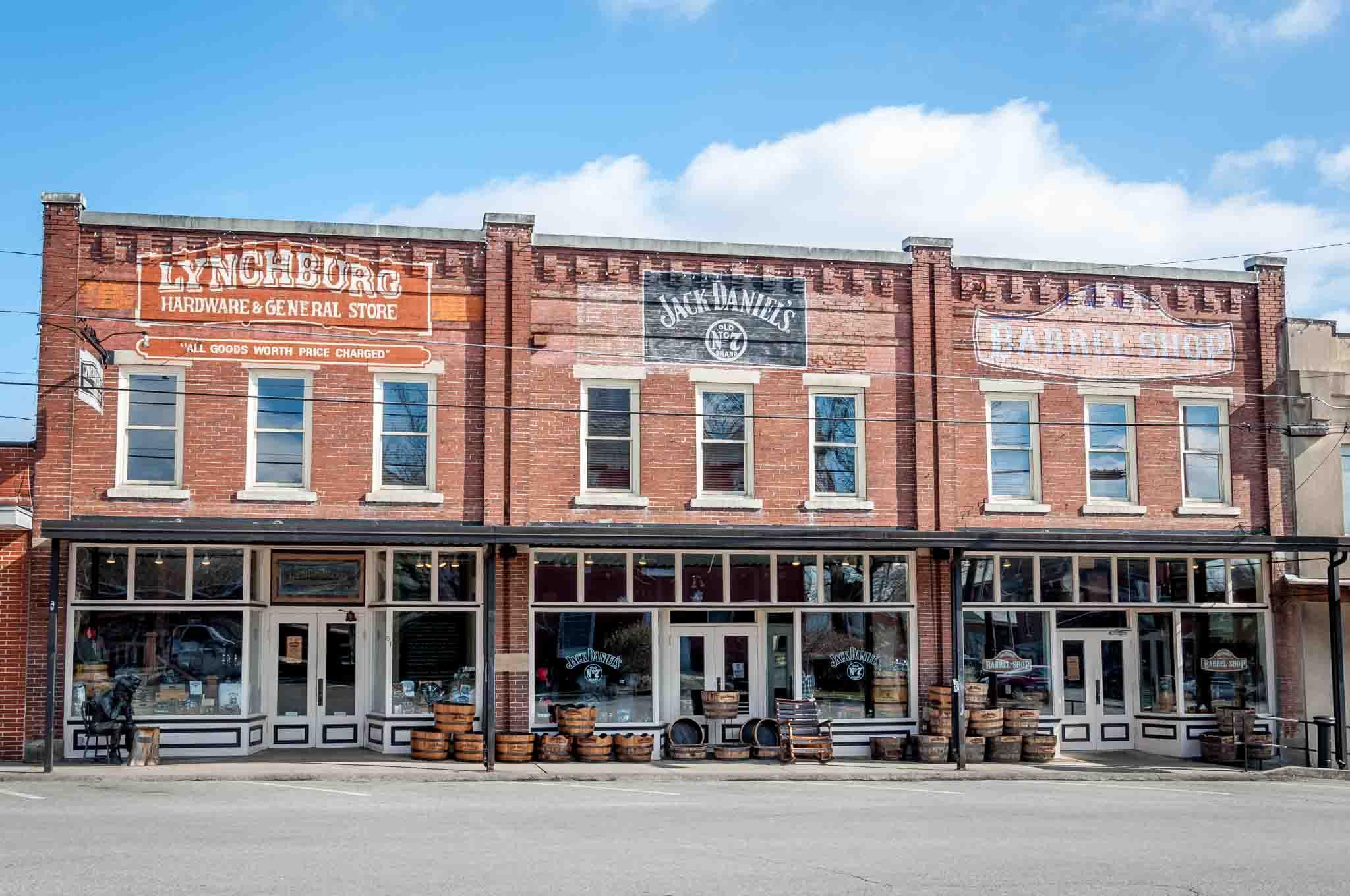 Brick building, Lynchburg Hardware & General Store