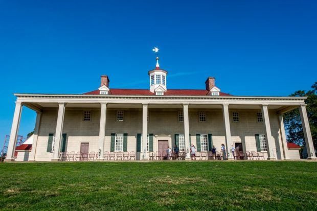 Mount Vernon on the banks of the Potomac in Virginia is the oldest presidential home