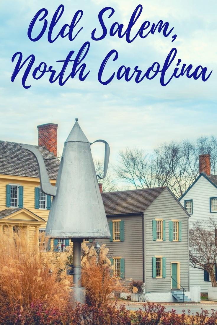 Visit Old Salem North Carolina - Museums and Gardens - Travel Addicts