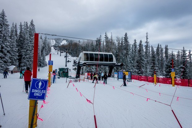 Short life lines at Ski Santa Fe in New Mexico
