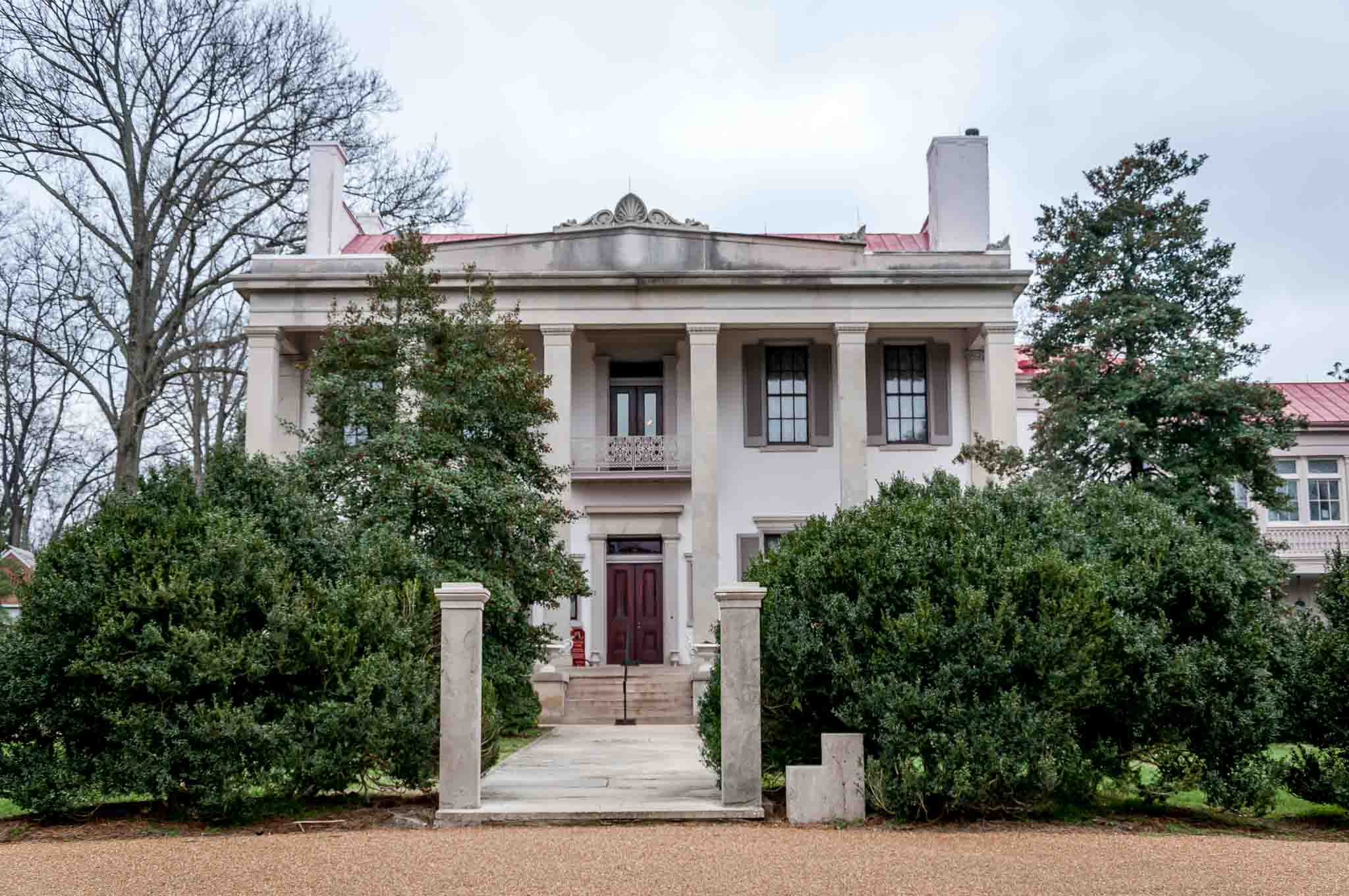 Mansion at Belle Meade plantation in Nashville TN