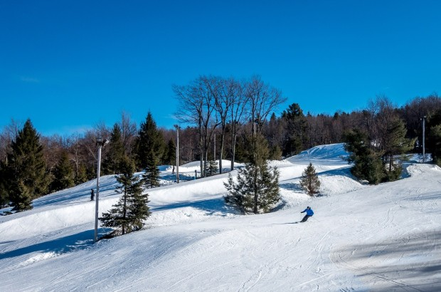 The slopes at Jack Frost Big Boulder in the Poconos.