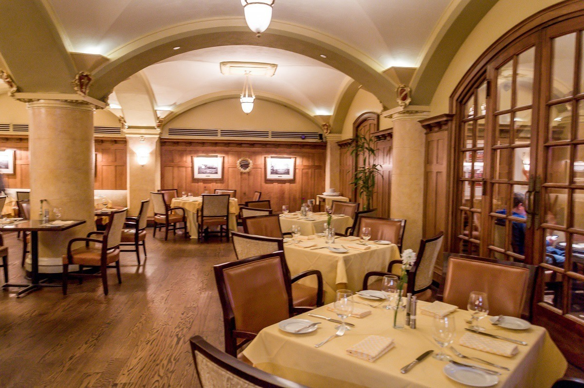The Capitol Grille at The Hermitage Hotel in Nashville.