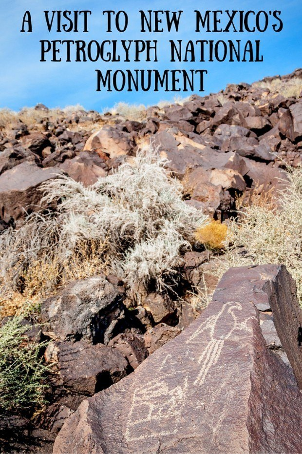 Petroglyph National Monument in Albuquerque, New Mexico, is home to 24,000 petroglyphs. The carvings were created by the Ancient Puebloans from 1300 to 1650. The meanings are unknown.