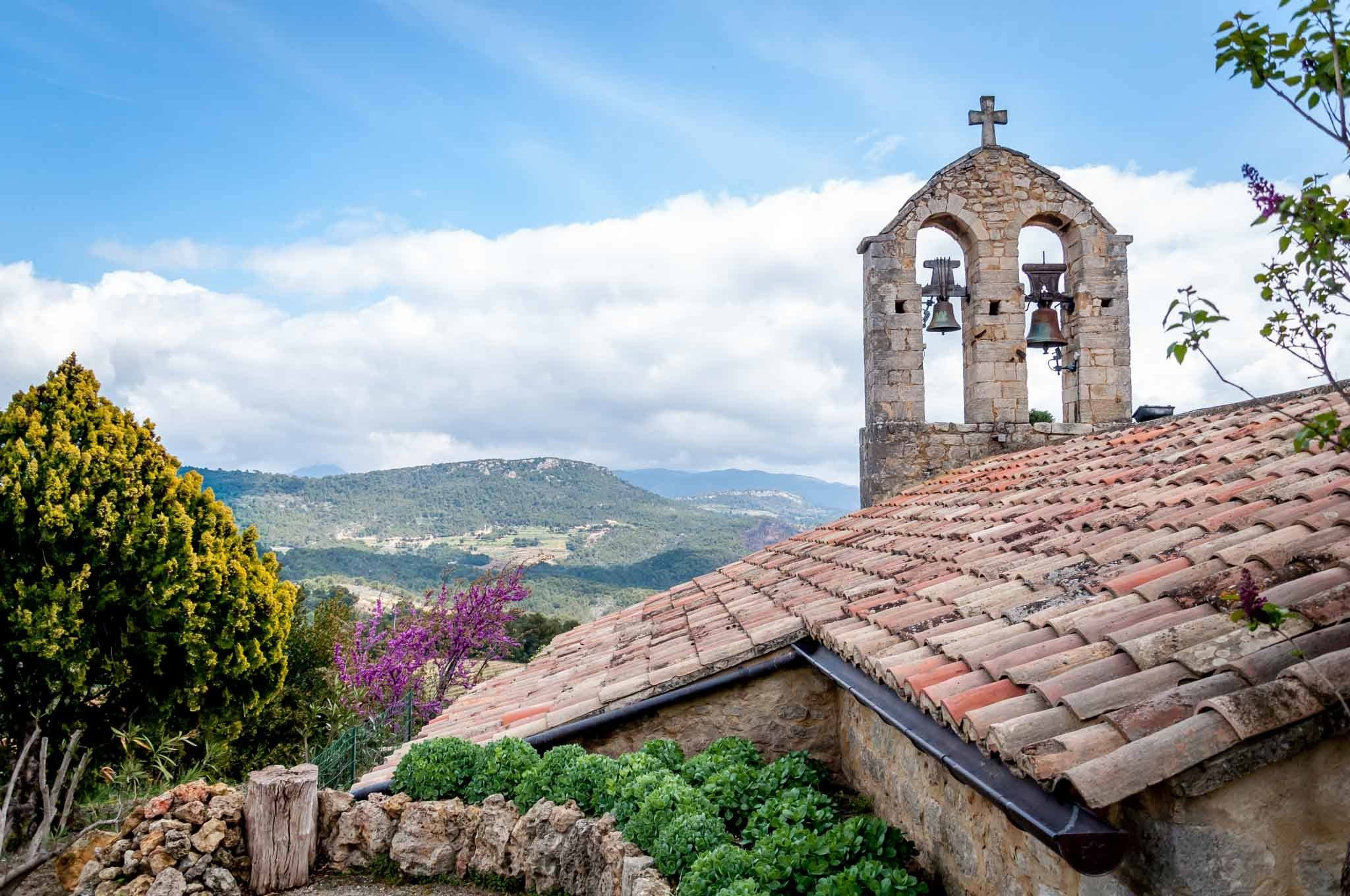 Church bells in Suzette in the South of France