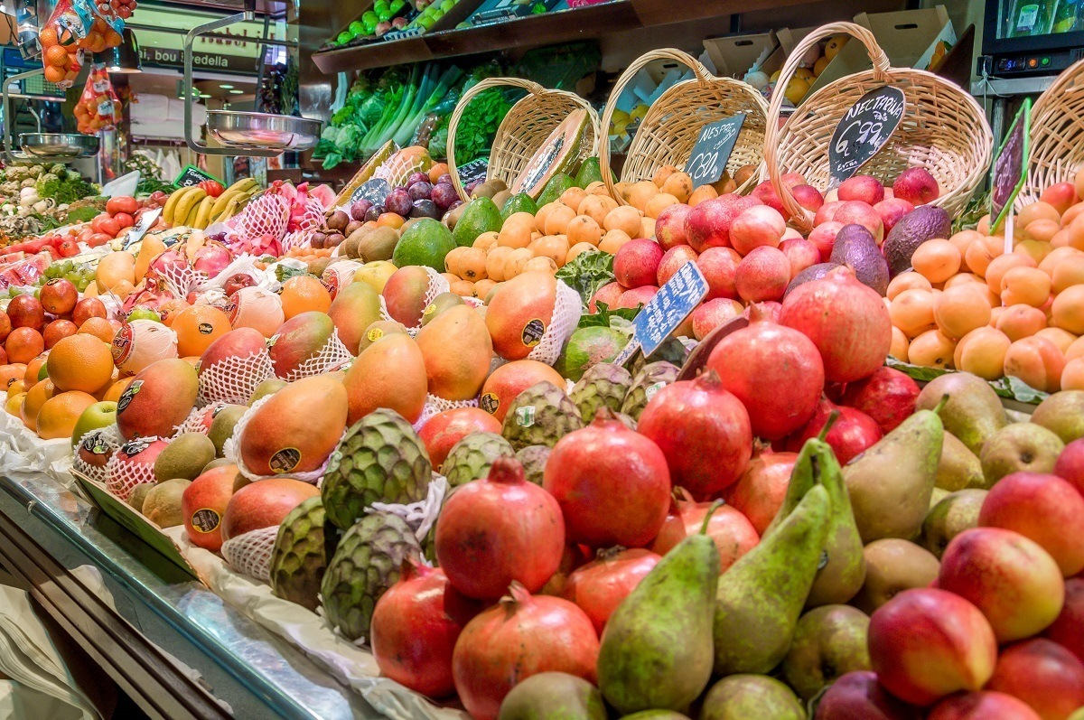 Fruit for sale