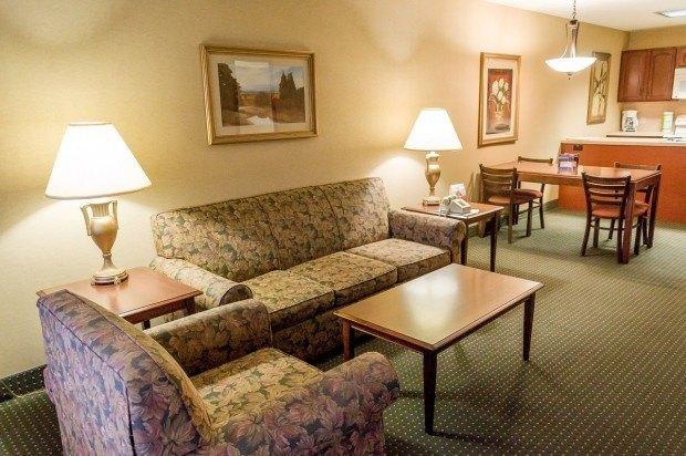 The Living Room at Split Rock in the Poconos.