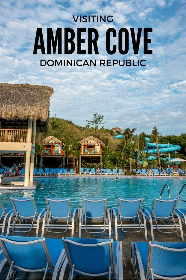 Amber Cove cruise port in the Dominican Republic goes beyond the typical port. It offers a huge pool - complete with water slides - plus a zip line, kayaking, and more.