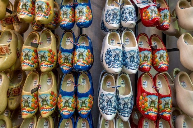 Clogs for sale in Amsterdam