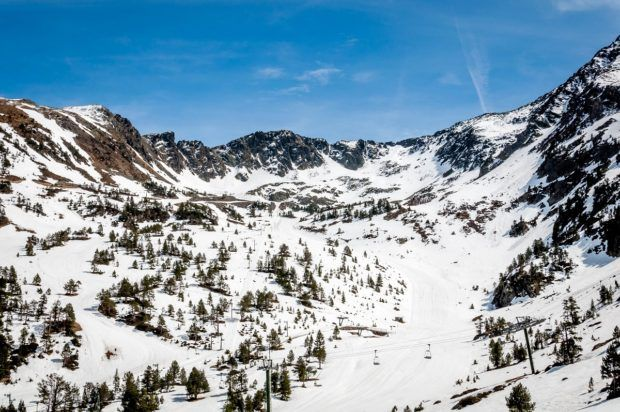 Alpine skiing tops the list of things to do in Andorra in the winter.