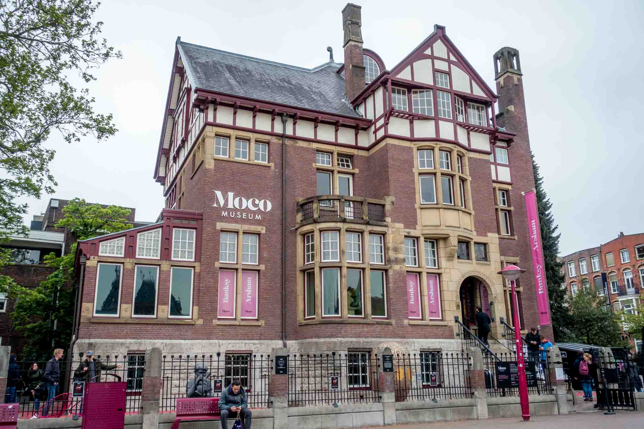 The MOCO Museum is houses in an early 1900s townhouse on Museumplein. A visit here is what to do in Amsterdam for contemporary art lovers.